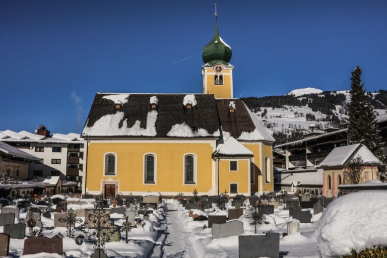 Church in Westendorf Austria